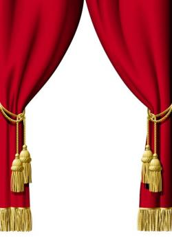 Curtain clipart decorative