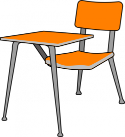 Furniture clipart student desk