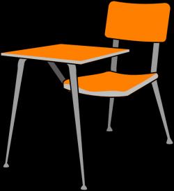 Furniture clipart student desk