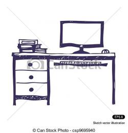 Drawn computer