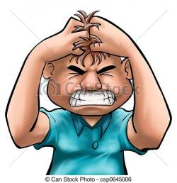 Face clipart frustrated