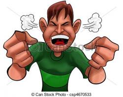 Despair clipart annoyed person