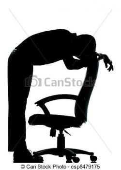 Despair clipart black and white