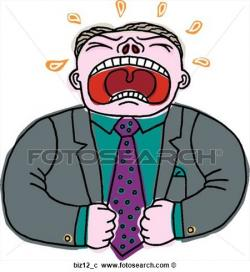 Despair clipart frustrated employee