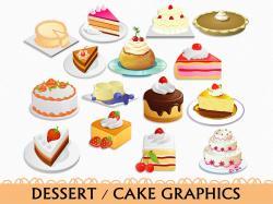 Baking clipart dessert