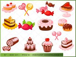 Pastry clipart sweet tooth