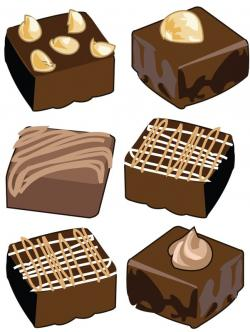Brownie clipart cute
