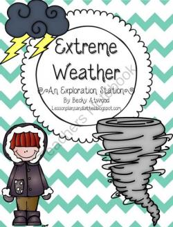 Disaster clipart extreme weather