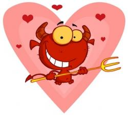 Devil clipart cupid
