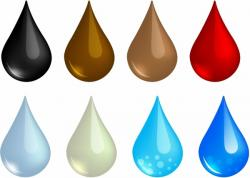 Liquid clipart sweat drops
