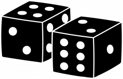 Cube clipart dice