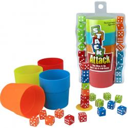 Dice clipart stacked