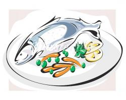 Raw clipart fish meal