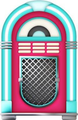 Diner clipart jukebox