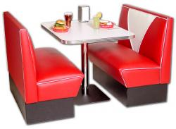 Diner clipart restaurant booth