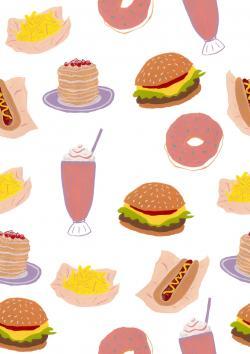 Burger clipart doughnut