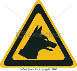 Dingo clipart drawing