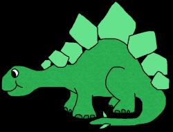 Stegosaurus clipart funny