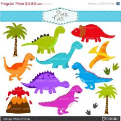 Digital clipart dinosaur