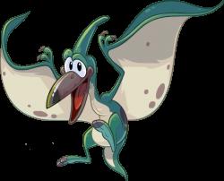 Pteranodon clipart funny