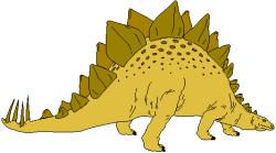 Stegosaurus clipart dinasour