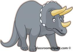 Triceratops clipart dinasour