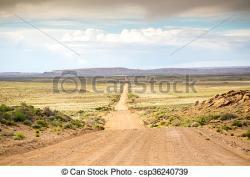 Asphalt clipart dirt road