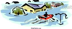 Flood clipart flood disaster