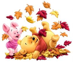 Thanksgiving clipart pooh bear