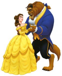 Yellow Dress clipart beauty and the beast belle
