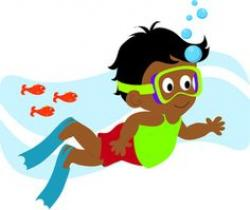Diver clipart