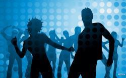Club clipart dj dance