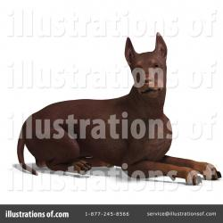 Doberman Pinscher clipart pet
