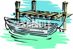 Pier clipart boat dock
