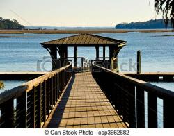 Boardwalk clipart dock