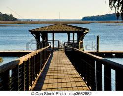 Boardwalk clipart dock