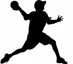 Dodge clipart dodgeball player
