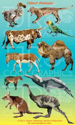 Extinct clipart extinct animal