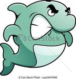 Dolphins clipart angry