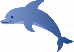 Dolphins clipart cartoon