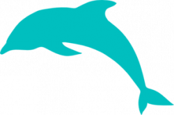 Dolphin clipart simple