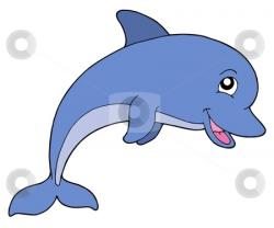 Dolphins clipart smile