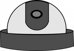 Cctv clipart dome camera