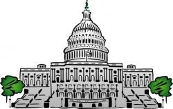 Dome clipart us capitol