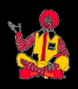 McDonald's clipart ronald mcdonald