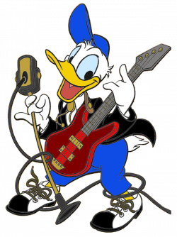 Donald Duck clipart shirt
