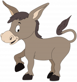 Mule clipart cartoon