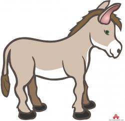 Christmas clipart donkey