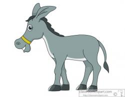 Moving clipart donkey