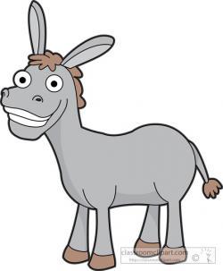 Cute clipart donkey